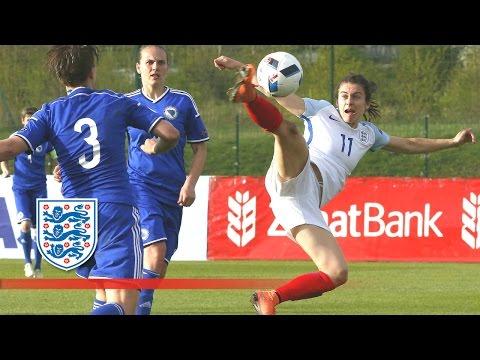Bosnia Women 0-1 England Women | Goals & Highlights