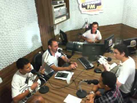 Salmi Ramalho na 91FM jairo e Jeferson Silva Matuto do Pé Rachado