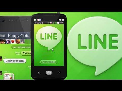 LINE o LÍNEA en español. la alternativa perfecta a WhatsApp.Android