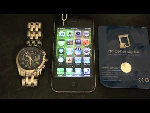 Unlock iPhone 4 GSM iOS 5.0.1 with Gevey ULTRA Blue NO CUT NON JAILBROKEN 4.10.01 BB