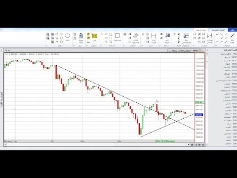 نظرة رقمية تحليلية وتعليمة على سوق الاسهم السعودي - محمد بن فريحان 21 يناير 2015