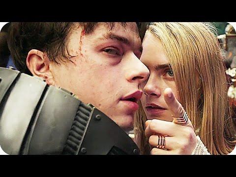 VALERIAN Trailer (2017) Dane DeHaan, Cara Delevingne Science Fiction Movie