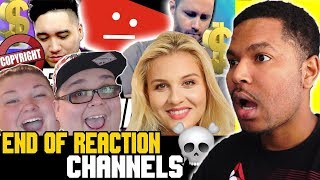 Can Reaction Channels Survive Copyright Claims😥| NOPE