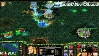 [Gameplay] Warcraft 3 Frozen Throne - Dota [1080p FULL HD]