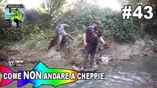 Come NON andare a pesca di Cheppie - Indiana Jones ci fa una pippa (Video Pesca Divertenti)
