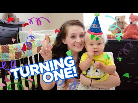 OLLIE IS TURNING ONE! - My Child's Birthday Tag!