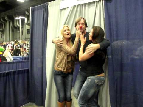 Kevin Sorbo, Candice Michelle, and Gena Lee Nolin