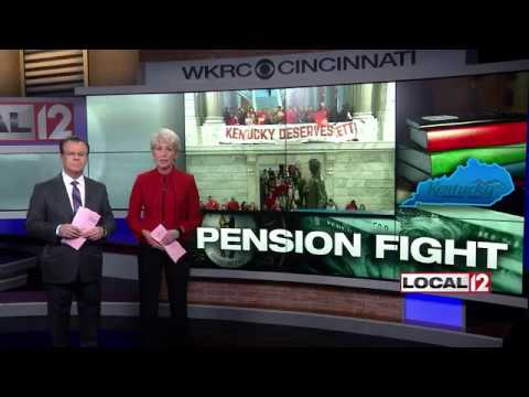 "KY teachers upset at ""sneaky"" passing of pension bill, vow to continue fight"
