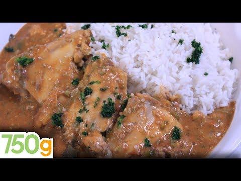 Recette de Maffé de poulet - 750g