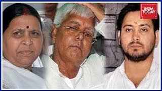 The Burning Question: Cases Filed Against Lalu, Rabri And Tejaswi