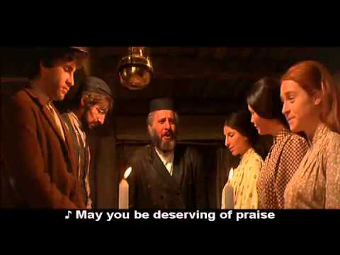 Fiddler On The Roof Jewish Sabbath Prayer Youtube