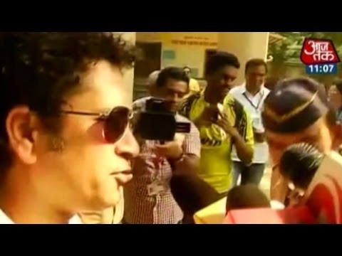 Maha Polls: Sachin, Abhishek, Jaya Bachchan cast their vote