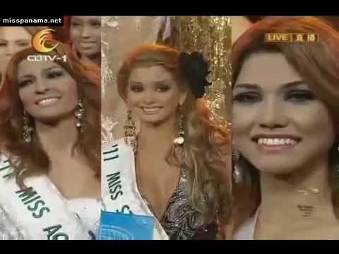 Miss International 2011 Top 5
