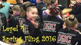 Spring Fling 2016 Level 4 1st Place All Around Usag
