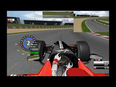 F1 2010 Bahrain Crash Rfactor F1 2010 Mod