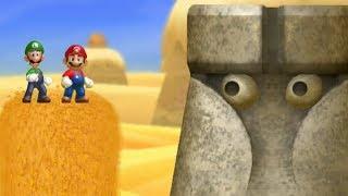 New Super Mario Bros U - Boost Rush (2 Players)