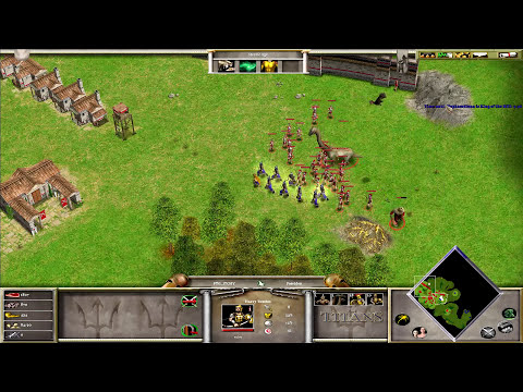 {2/3} Age Of Mythology | King Of The Hill | w/ Hephaestionn
