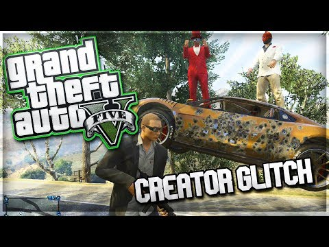 GTA 5 Online Funny Moments Creator Glitch Fun Funny Voice Impressions Glitches