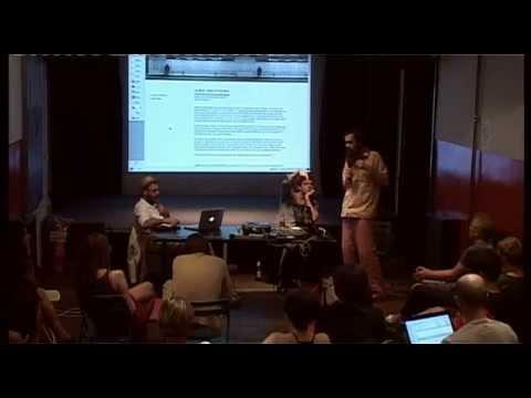 Public discussion on practices of UbuWeb & Monoskop in Novi Sad 15 07 2013