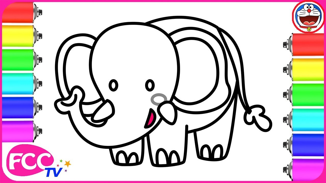 How to Draw Elephant How to Draw for Kids How to Draw