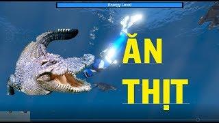 5 Anh em siêu nhân - Gao Xanh làm Võ Tòng bắt Cá Sấu khủng cứu dân|GHTG