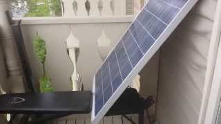 Renewable Apartment - Solar Panels in an apartment!