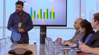 King Liar | Sathyan takes new mission from Devika for the profit of company | Mazhavil Manorama