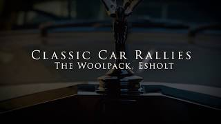 Classic Car Rally, The Woolpack, Esholt