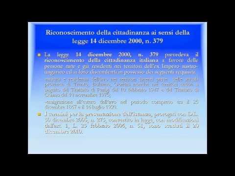 Guida alla cittadinanza italiana - Consolato Generale d'Italia Bahia Blanca SETTEMBRE 2013