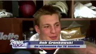 Rob Gronkowski & Aaron Hernandez Come Up With Nicknames