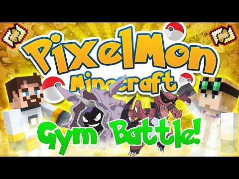 Minecraft Pixelmon Pokemon Mod #49 VERTICAL TURTLE Sand Gym