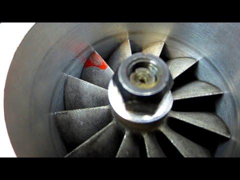 Постройка турбореактивного двигателя - Компрессорная часть готова