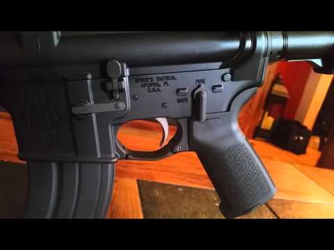 AR 47 with palmetto state armory upper