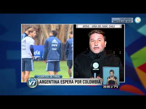Visión 7 - Copa América: Argentina espera por Colombia
