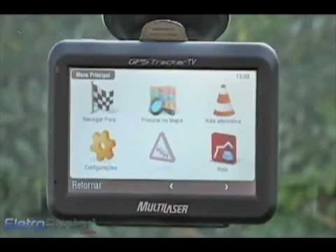 GPS Multilaser Tracker GP012 Tela 4.3