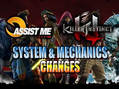 ASSIST ME! System & Mechanics: Killer Instinct Season 2 Official Change Log (Part 1)