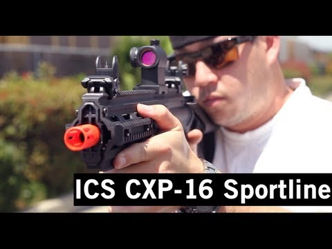 Airsoft GI - ICS CXP-16 Sportline AEG Assault Rifle Gun Review