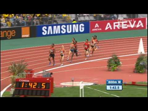 800m women Meeting Areva Diamond League Paris 2011