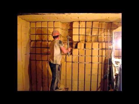 Подземная добыча строительного камня ракушечника