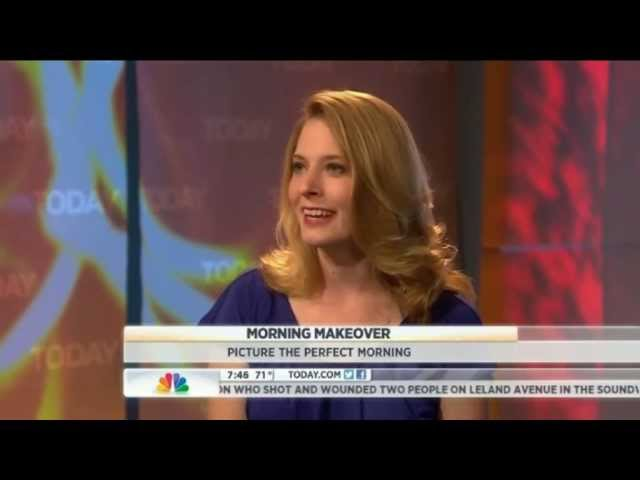 Today Show, Morning Makeover with Laura Vanderkam, 6/29/12