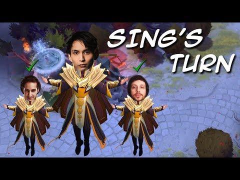 SING'S INVOKER TURN (SingSing Dota 2 Highlights #1112)