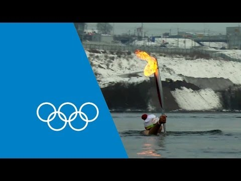 The Olympic Torch's Journey To Sochi 2014 | Faster Higher Stronger video
