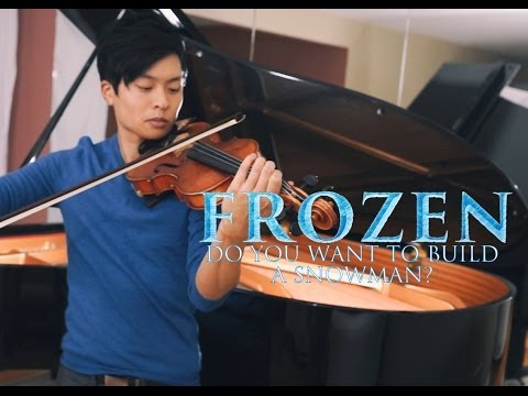 Do You Want To Build a Snowman? (and Let It Go) - Violin & Piano - Daniel Jang