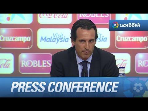 Press Conference Emery after Sevilla FC (4-1) Deportivo de la Coruña - HD
