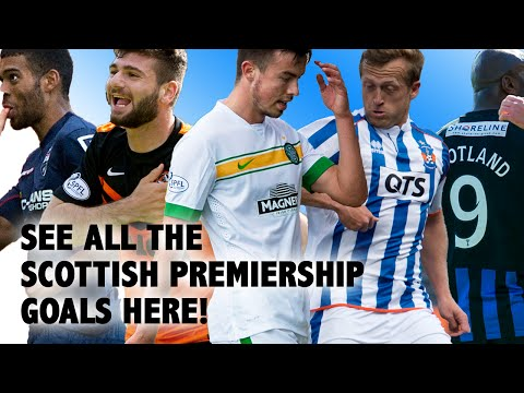 Watch every goal from the Scottish Premiership