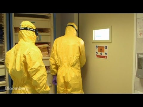 Inside a High-Security Ebola Isolation Chamber