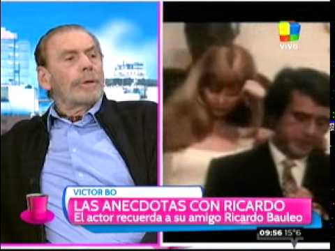 Víctor Bo recordó a Ricardo Bauleo