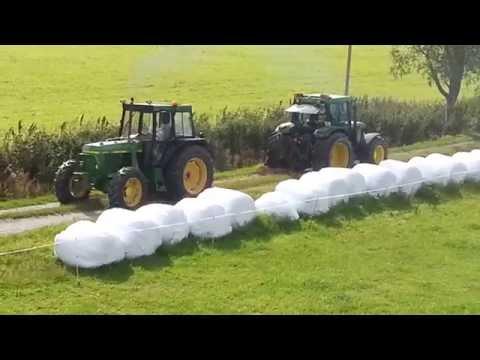 Tractor Pulling, John Deere 6400 vs 3140