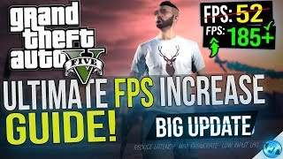 🔧 Grand Theft Auto 5: Dramatically increase performance / FPS with any setup! BIG UPDATE 2019