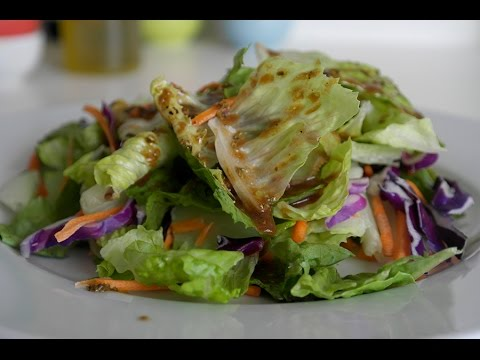 Easy Healthy Salad Dressing | with Olivia Saez